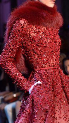 Elie Saab Haute Couture Autumn 2014 - Detals