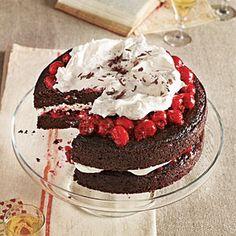Black Forest Cherry Cake | CookingLight.com