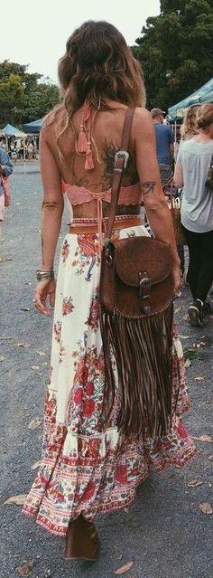 Anita Ghise Boho Outfit Idea Perfect For Coachella Festival