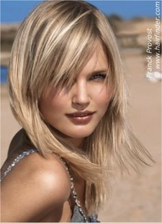 Pretty blonde highlights... Not the cut so much