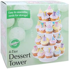Wilton Stacked Dessert Tower 25 cupcakes