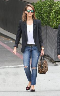 How To Wear Denim To Work-Outfit Ideas