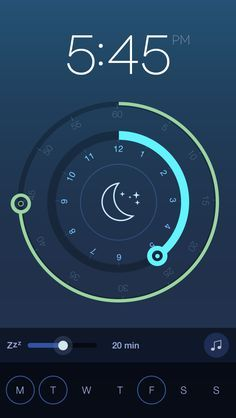alarm app interface - Google 검색