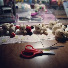 Orders in progress! #amigurumi #crochet #doll #plushie