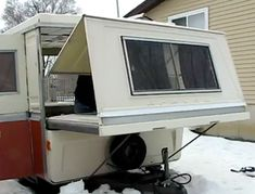 Gorgeous 1975 Apache Mesa Hard Side Pop Up Camper