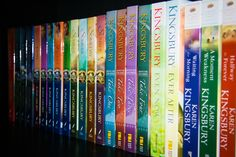 Anything by Karen Kingsbury! Start with the Redemption series. Be prepared to become a member of the Baxter family.