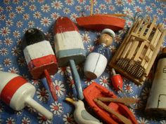 wooden toys of the sea