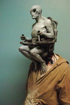 Alien Mind Control Halloween Mask  lol