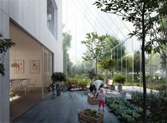 ReGen Villages by EFFEKT for exhibition at the Danish Pavilion at the Venice Architecture Biennale 2016 - Almere Holland