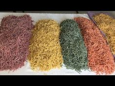 Noodles, Crochet Earrings, Recipies, Nature, How To Make, Tuner Cars, Youtube, Colorful, Kitchens