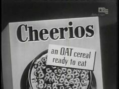 """1950s Classic Commercial for """"Cheerios cereal"""" (US, c. 1952)"""