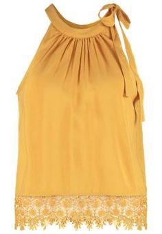 Only Onlaudrey Top Spruce Yellow Las Blusas De Mujer Siguen Siendo Tendencia Las blusas de mujer siguen siendo tendencia por dos premisas fundamentales.