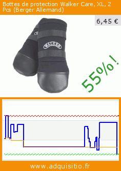 Bottes de protection Walker Care, XL, 2 Pcs (Berger Allemand) (Divers). Réduction de 55%! Prix actuel 6,45 €, l'ancien prix était de 14,42 €. https://www.adquisitio.fr/trixie/bottes-protection-walker-1