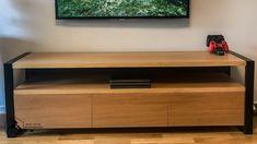 RTV Dąb loft – Karaon.eu Flat Screen, Loft, Diy, Puzzle, Google, Tv Storage, Blood Plasma, Puzzles, Bricolage