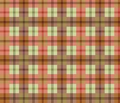 gingham_plaid_-_gardentools3 fabric by glimmericks on Spoonflower - custom fabric COPYRIGHT 2012 REPRODUCTION PROHIBITED OUTSIDE OF PINTEREST PINS