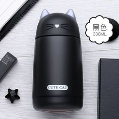 Thermos Cup Cartoon Cat Thermo Mug Drinkware Kids Water Bottle Stainless Steel Child Vacuum Flask cup Tumbler leak-proof Tumbler Tap the link for an awesome selection cat and kitten products for your feline companion! Coffee Flask, Coffee Thermos, Cat Lover Gifts, Cat Gifts, Cat Lovers, Lovers Gift, Mr Cat, Kitty Cats, Flask Water Bottle