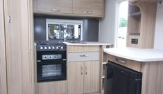 Coachman Vision 380 - Practical Caravan Camping Trailer For Sale, Window Fitting, Caravans For Sale, Small Campers, Flush Toilet, Front Windows, Roof Light, Small Shelves, A Shelf