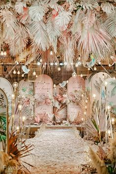 Fresh Ideas And Wedding Trends 2020 Wedding Backdrop Design, Boho Wedding Decorations, Backdrop Decorations, Wedding Themes, Backdrops, Ceremony Backdrop, Wedding Ideas, Wedding Reception Venues, Wedding Stage