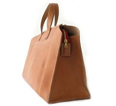 tan 24 hours bag by kika ny ::Roztayger :: Modern Bags & Accessories