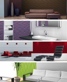Styling Panel Wave - 1qm Wandpaneele mit Relief aus robustem recyclingfähigem Kunststoff - Deckenpaneele Fliesen Wandbezug Wandverkleidung Wanddeko Wandplatten - Alternative zur Tapete: Amazon.de: Baumarkt