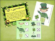 Roll a leprechan Game | Roll A Leprechaun! - by Jessyjames