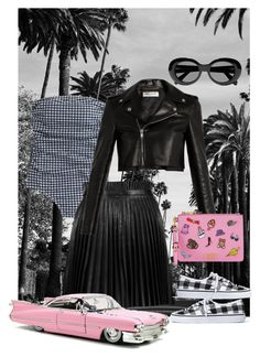 """""""California"""" by mydreamingcloset ❤ liked on Polyvore featuring J.Crew, RED Valentino, Acne Studios, Madewell, Yves Saint Laurent, Moschino, california, trend and gingham"""