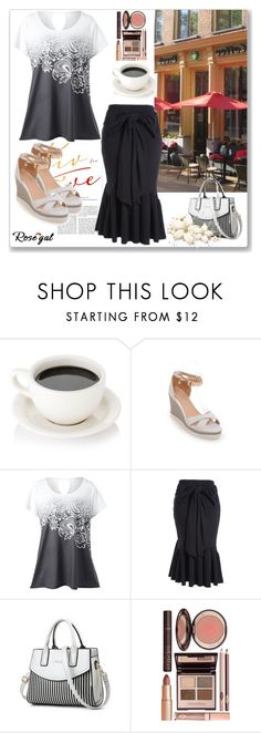 """""""Lets go for coffe!"""" by thefashion007 ❤ liked on Polyvore featuring Charlotte Tilbury"""