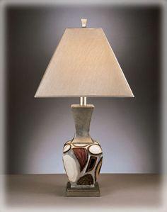 Contemporary Diallo Poly 2 Table Lamps