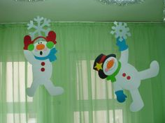 Resultado de imagen para výzdoba oken v mš zima Christmas Arts And Crafts, Christmas Activities, Christmas And New Year, Christmas Holidays, Xmas, Kids Crafts, Diy And Crafts, Paper Crafts, New Years Decorations