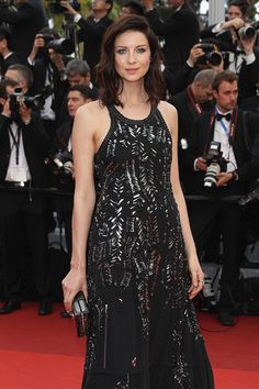 MQ Pictures of Caitriona Balfe at the world premiere of 'Café Society' in Cannes See more pictures after the jump