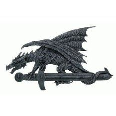 věšák na klíče Dragon