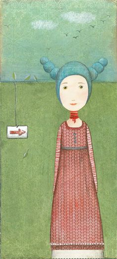 Katherine Quinn the print on the dress and colors