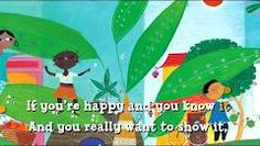 Barefoot books on YouTube...movement song