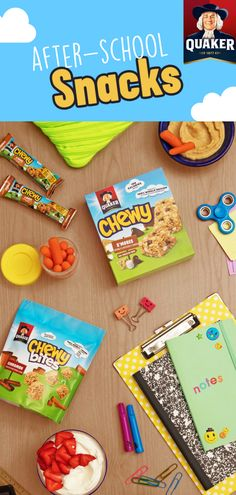 Your little one will never trade lunch snacks again! Quaker® Chewy® Bites, made with whole grains, real chocolate chips, and other del. Grilling Recipes, Seafood Recipes, Snack Recipes, Lunch Snacks, Healthy Snacks, Lunches, Healthy Skin, Best Electric Pressure Cooker, Chewy Granola Bars