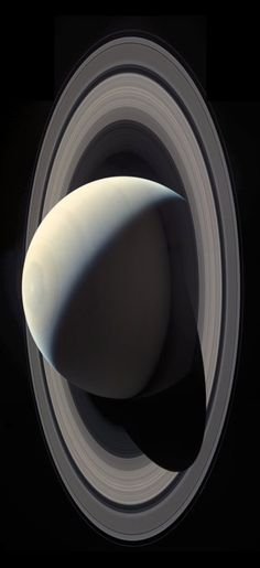 Taken by the Cassini spacecraft on October 28, Regan combined 21 total images (7 each for red, blue, and green filters) to create this mindblowing mosaic.