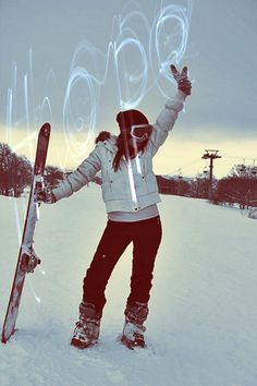 How I feel when I go snowboarding! Yassss Honey, I have arrived, clear the lift line, Jae is here!!! - JB