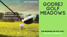 Godrej Golf Meadows Panvel township will fulfill your desire of living in a stylish and sleek residence. Surrounded by verdant greenery and well planned amenities, the project will be a perfect mix of chic style and relaxed environment.