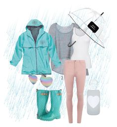 """Rain, Rain, Come Again"" by beccasparkles on Polyvore featuring Chooka, Victoria's Secret, American Vintage, Dorothy Perkins, Kate Spade, bkr and Full Tilt"