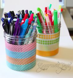 Pen Cups by GourmetPens, via Flickr