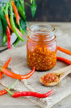 Pate' di peperoncini – Hot chili paste from Southern Italy