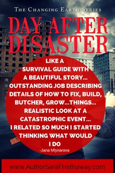 Book Review: Like a survival guide with a beautiful story. Day After Disaster is an apocalyptic, adventure novel in which a dynamic woman, mother and wife struggles, against all odds, to find her family, dead or alive, in a world being tormented by Mother Nature.