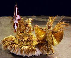 Carnaval Rio - Mestre sala e porta bandeira