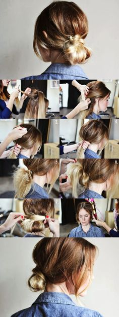 Get Messy: 5 Buns To Try Right Away