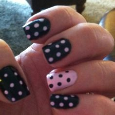 I have a thing for poka dots and pink lately!!!!