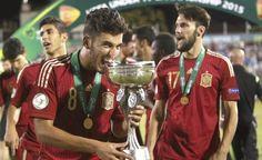 Dani Ceballos, el campeón de Europa sub 19 que insultó en Twitter a los que pitaban el himno - Libertad Digital