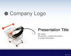 La plantilla de comercio electrónico para PowerPoint es un fondo de carrito de compras para presentaciones de PowerPoint que puede ser utilizada por empresas retail pero también por eventos donde se necesite utilizar fondos de comercio electrónico o e-commerce para presentaciones de negocios online