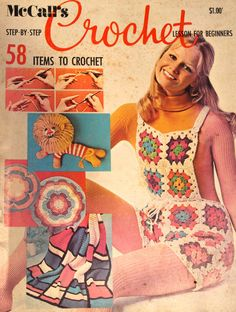 Vintage McCall's Crochet Lesson for Beginners by baldyhillvintage