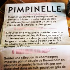 Great Packaging, great graphics @pimpinellestore - Brussels