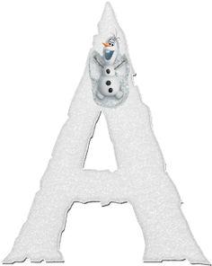 Alfabeto Decorativo: Alfabeto - Frozen 6 - PNG - Letras - Maiúsculas - ...