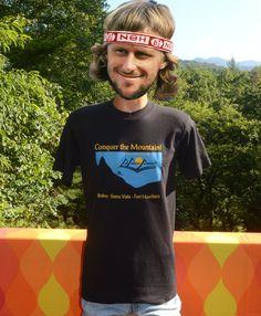 vintage 90s t-shirt MULE MOUNTAIN marathon arizona by skippyhaha